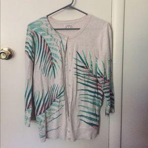 Meroma Palm Frond cardigan