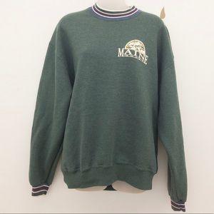 Vintage Maine Sweatshirt