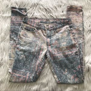 BDG Vintage Print Jeans, LONG