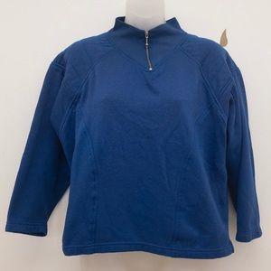 Vintage Blue Sweatshirt
