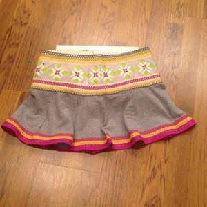 NWT...FREE PEOPLE SKATE MINI SKIRT