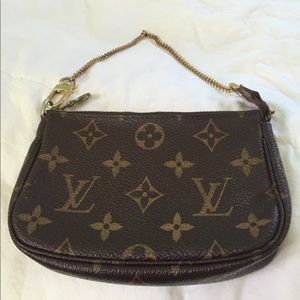 Louis Vuitton mini pouchette Original authentic