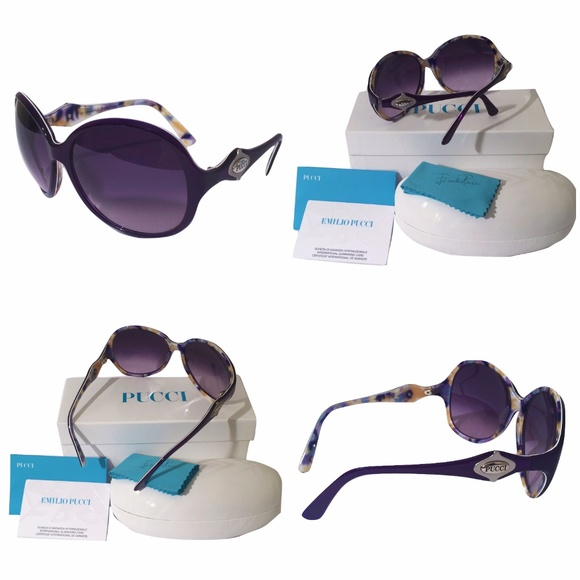 1cc41acaa960 Emilio Pucci Accessories | 445 New W Box Case Cards Pucci Sunglasses ...