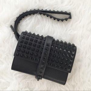Zara Studded Clutch/Wristlet.