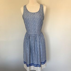 "StitchFix Skies Are Blue ""Elle"" Blue Floral dress"