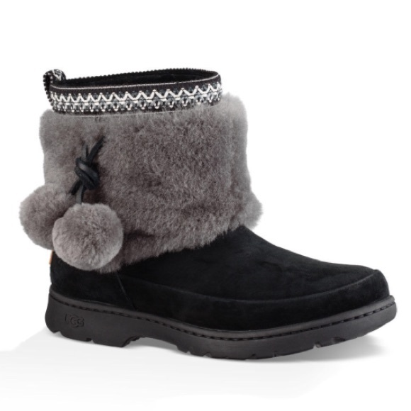 7adddc85279 NEW UGG BRIE BLACK. Without box. NWT