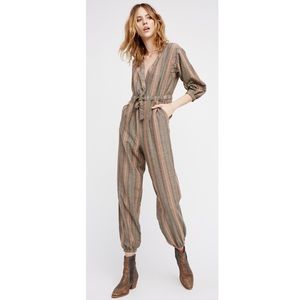 NWOT Free People Loveland jumpsuit