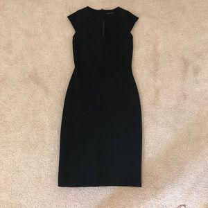 Zara fitted black dress