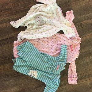 Other - 3 newborn girl pajamas