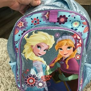 Elsa Anna Disney Store back pack. New without tags