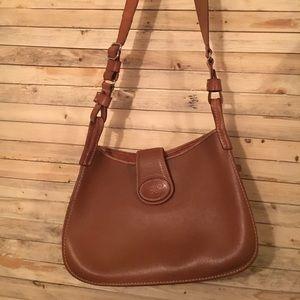 Vintage Dooney Bourke leather bag