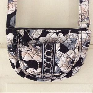 "Vera Bradley ""Camellia"" small cross-body."