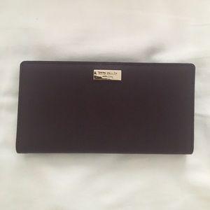 Kate Spade dark purple snap Wallet! Perfect shape!