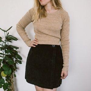 Vintage long sleeve knit top