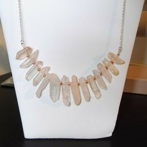 Jewelry - Peach quartz necklace