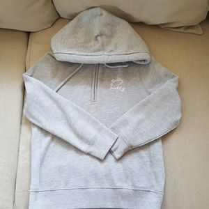 Gilly Hicks cropped hoodie