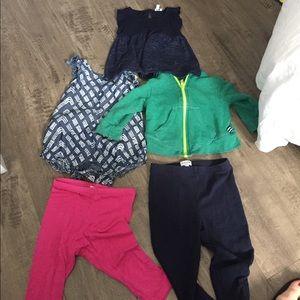 Splendid clothes in fair condition