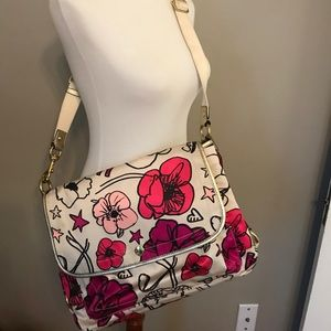 Coach poppy messenger bag