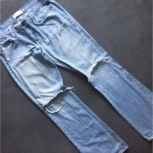Abercrombie & Fitch Distressed Jeans Size 8R