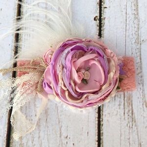 Other - Pink Couture Headband