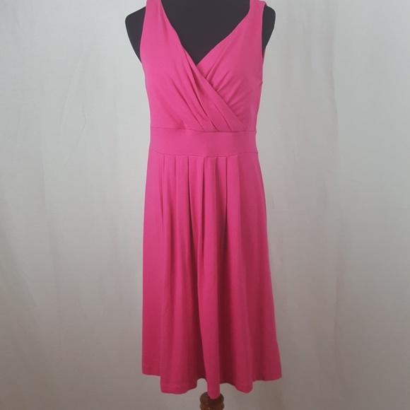 Lands' End Dresses & Skirts - Lands end pink flare dress