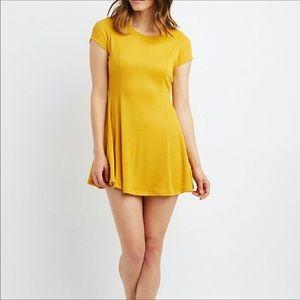 Asos Mustard yellow dress