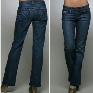 Joe's Provocateur Denim Medium Blue Bootcut Jeans