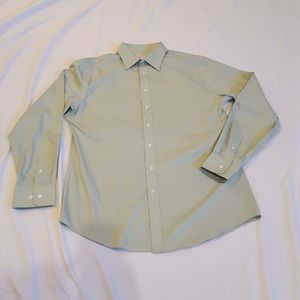 Men's Merona Button Down Dress Shirt