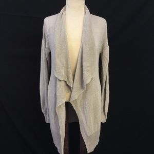 [Banana Republic] Sm Knit textured Drape Cardigan