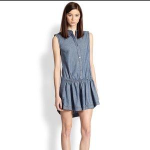 Marc Jacobs 'Lauren' Chambray Shirt dress