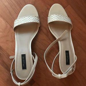Ann Taylor Myriem Wedge Sandal size 9.5