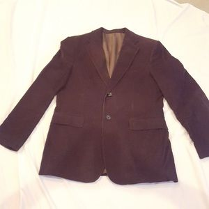 Express Men's Sports Coat - Chocolate Brown