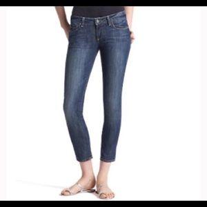 Paige Denim 'Roxbury' Crop Stretch Jeans