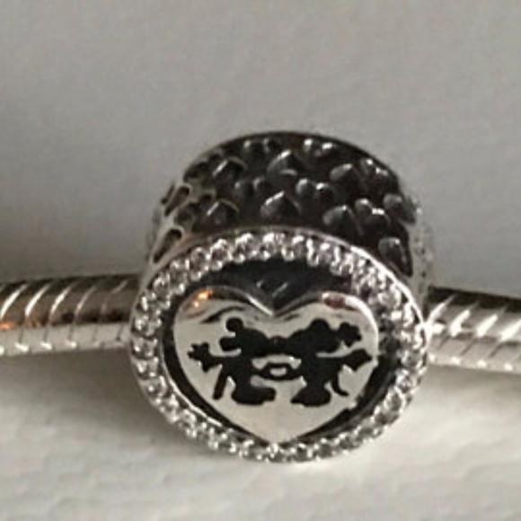92ff94840 Pandora Jewelry | Mickey Minnie Disney Love Charm | Poshmark