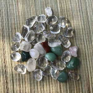 Variety Of Tumbled Stones