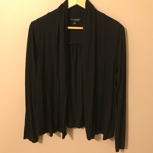 Banana Republic black drapey open sweater
