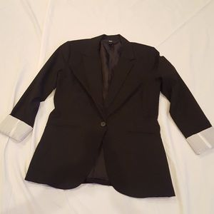 Women's Black Blazer by Mossimo
