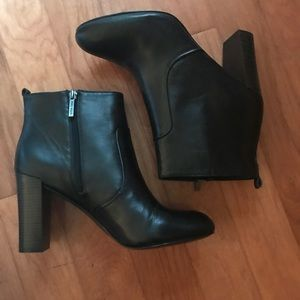 Black Nine West Ankle Booties size 10.5