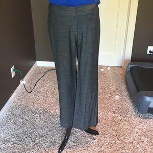 Loft Julie fit charcoal trousers