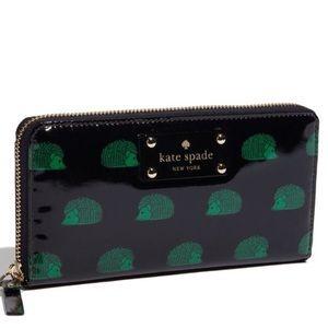 Kate Spade hedgehog wallet