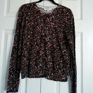 Floral Sweater (Cardigan)