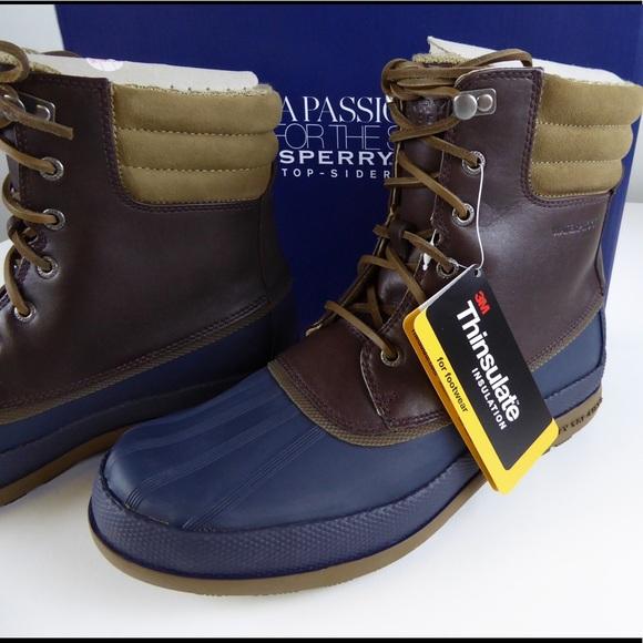 Top Sider Cold Bay Waterproof Boots Nib