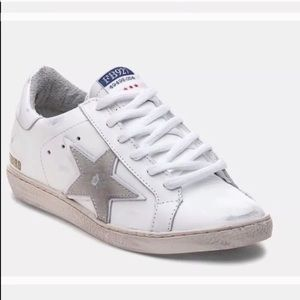 2d8d128dc90 Freebird by Steven Shoes - Freebird by Steven White Leather Star Sneakers  927