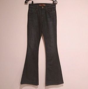 JOE'S JEANS HIGH WAISTED FLARE  25 X 34