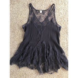 Free People Lace Tank Top