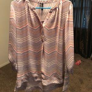 Maurices chevron blouse