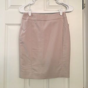 H&M Tan pencil skirt - size 2