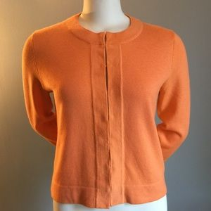Banana Republic Orange Cardigan