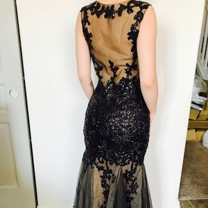 Designer couture gown