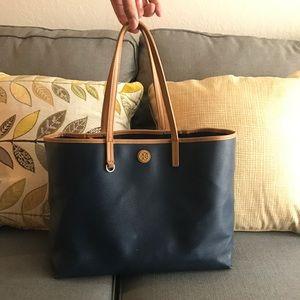 Navy blue Tory Burch purse